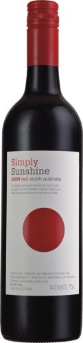 Probefl. 2018 Simply Sunshine Red  -  South Australia
